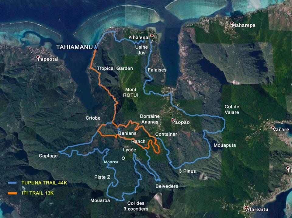 Parcours Tupuna Trail
