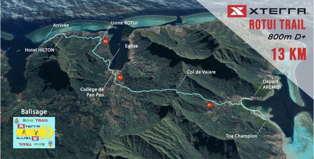 Trail 13km - Parcours