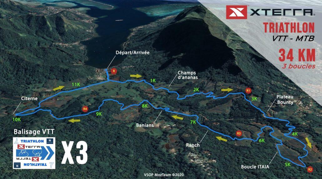 Triathlon - Parcours VTT