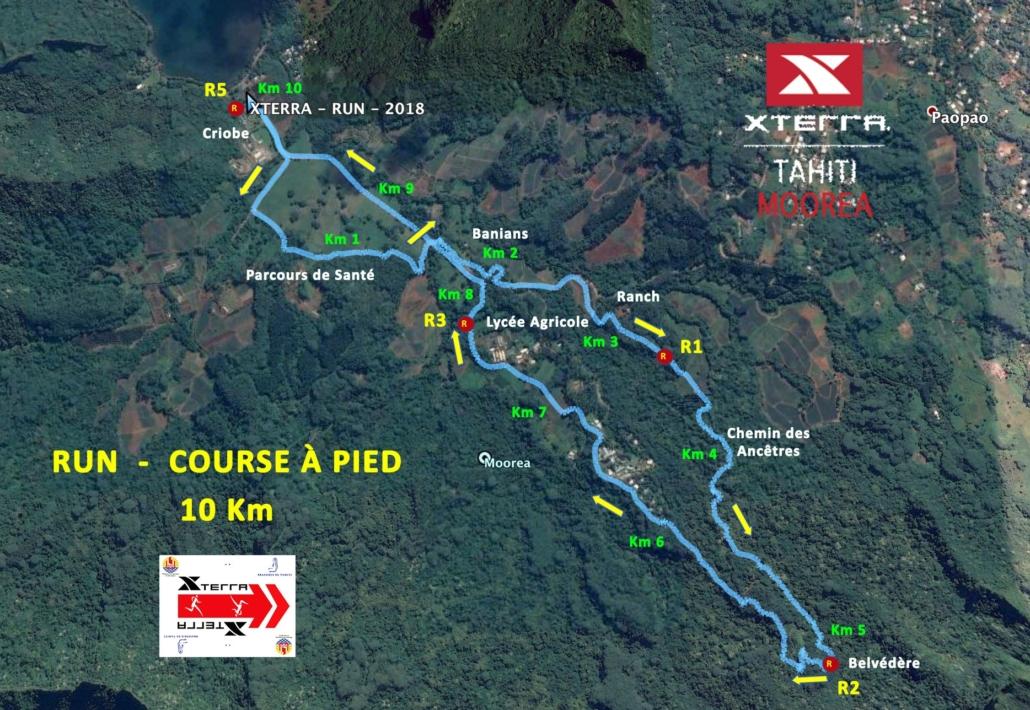 Triathlon Elite - Course à pieds